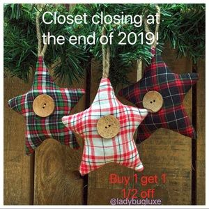Closing closet at the end of the year!